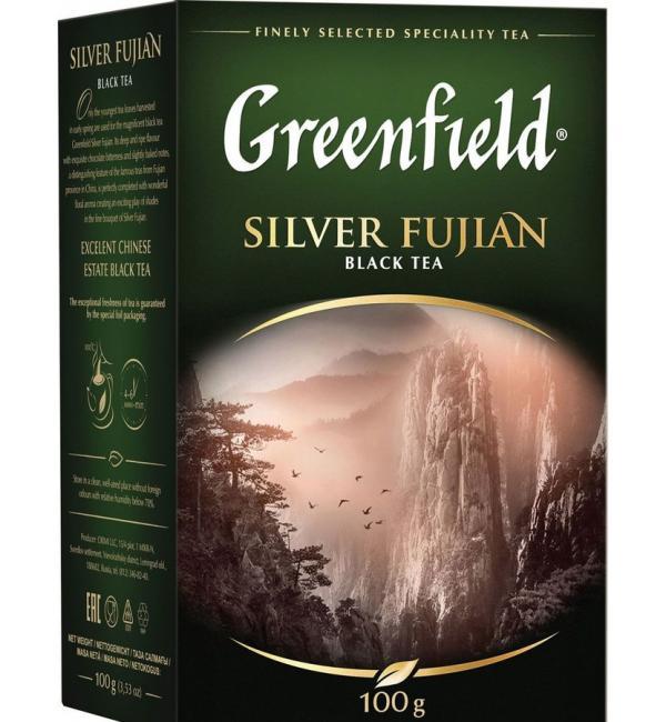 Чай черный Greenfield Silver Fujian 100г