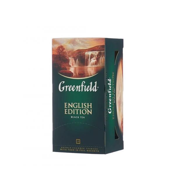 Чай черный Greenfield English Edition 50г (25пак.)