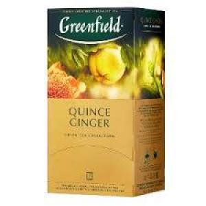 Чай зеленый Greenfield Quince Ginger 50г (25 пак.)