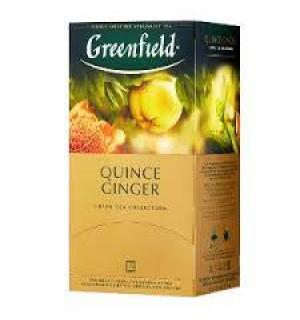 Чай зеленый Greenfield Quince Ginger 50г (25 пак.)