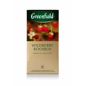 Чай Травяной Greenfield Wildberry Rooibos 37,5г (25 пак.)