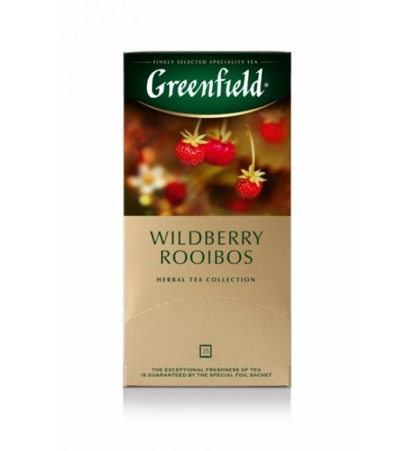 Чай Травяной Greenfield Wildberry Rooibos 37,5г (25 пак.)
