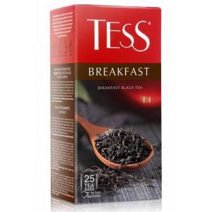 Чай черный Tess Breakfast 45г (25 пак.)
