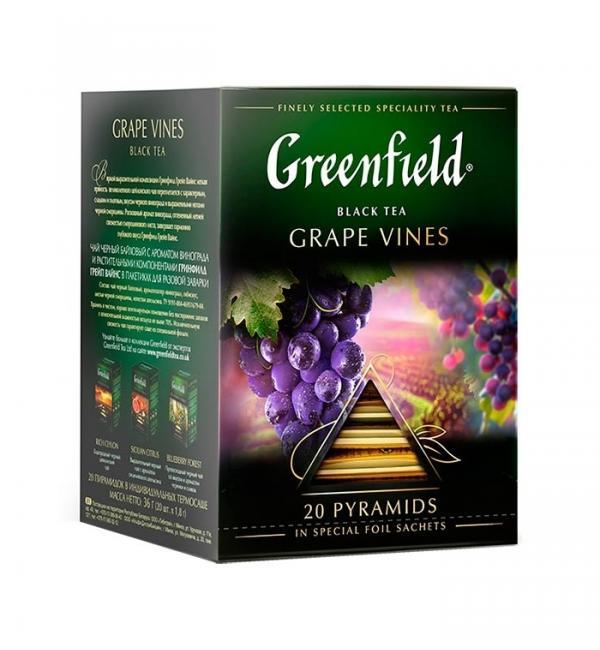 Чай черный Greenfield Grape Vines 36г (20пак.)