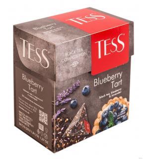 Чай черный Tess Blueberry Tart 36г (20 пак.)