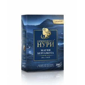 Чай черный Нури магия бергамота 200г