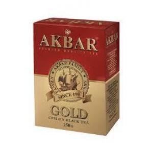 Чай черный Akbar Gold 250г