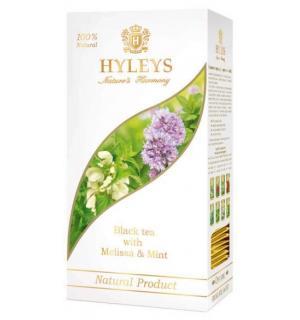 """Чай черный HYLEYS Гармония Природы """"С мелиссой и мятой"""" 37,5г (25 пак.)"""