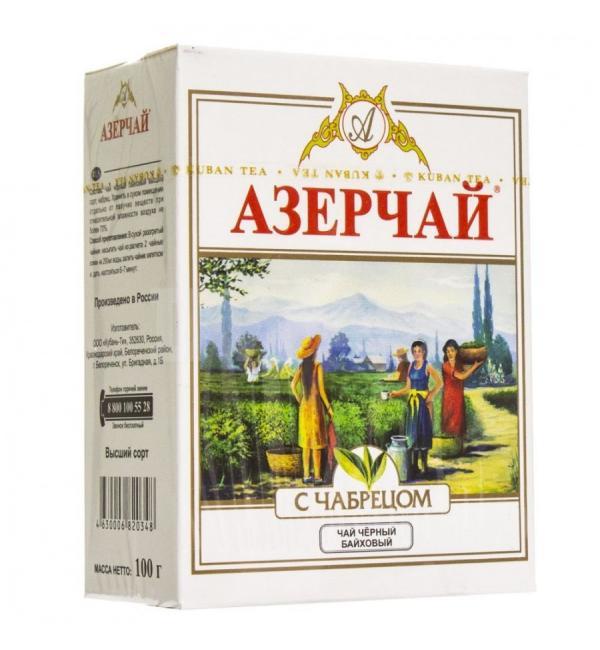 Чай черный Азерчай чабрец 100г