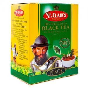 Чай черный St.Clairs Pekoe 100г