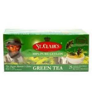 Чай зеленый St.Clairs Green tea 50г (25 пак.)