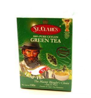 Чай зеленый St.Clairs Green tea 100г