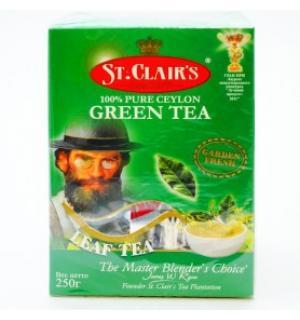Чай зеленый St.Clairs Green tea 250г