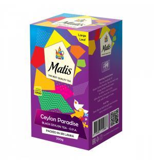 Чай черный Matis Ceylon Paradise O.P.A. 200г