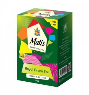 Чай зеленый Matis Royal Green Tea 100г