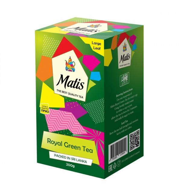 Чай зеленый Matis Royal Green Tea 200г