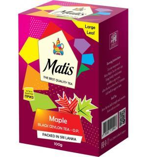Чай черный Matis Maple 100г