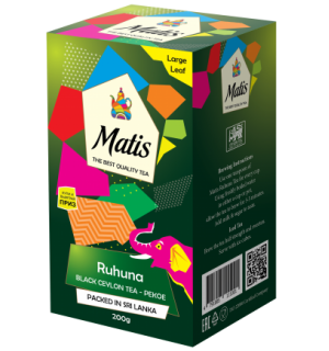 Чай черный Matis Ruhuna 200г