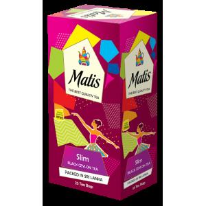 Чай черный Matis Slim 50г (25пак.)