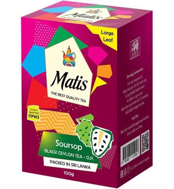 Чай черный Matis Soursop 100г