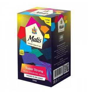 Чай черный Matis Super Strong B.O.P.F. 200г