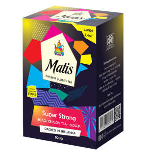 Чай черный Matis Super Strong B.O.P.F. 100г