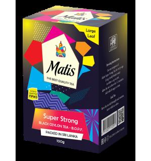 Чай черный Matis Super Strong B.O.P.F. 100г