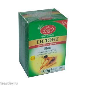 Чай зеленый Ти Тэнг Slim 100г