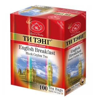 Чай черный Ти Тэнг English Breakfast 250г (100пак.)