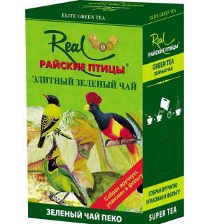 Чай зеленый Райские птицы green peko 100г