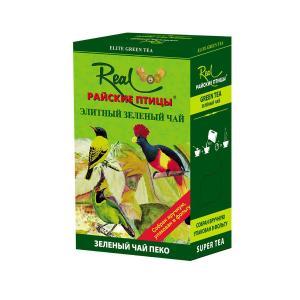Чай зеленый Райские птицы green peko 200г