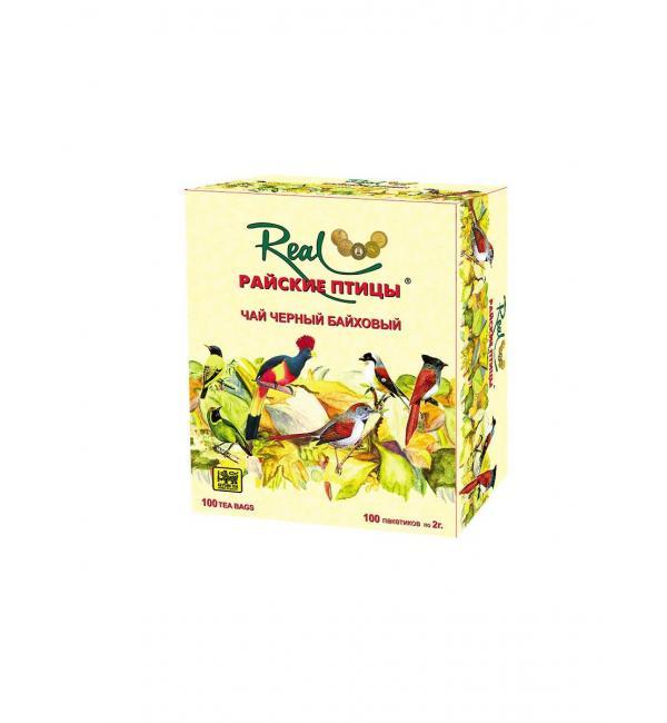Чай черный Райские птицы black tea 200г (100 пак.)