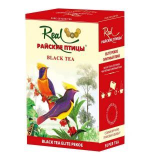 Чай черный Райские птицы черный Элитный Пеко 100г