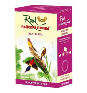 Чай черный Райские птицы черный с типсами 100г