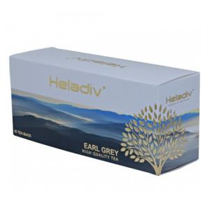Чай черный HELADIV Earl Grey 50г (25 пак.)