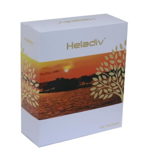 Чай черный HELADIV Black Tea 200г (100 пак.)