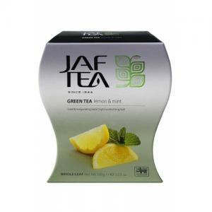 Чай зеленый Jaf Tea Lemon&Mint 100г