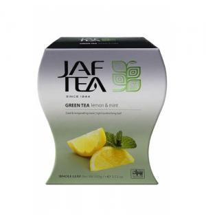 Чай зеленый Jaf Tea Lemon&Mint 100г