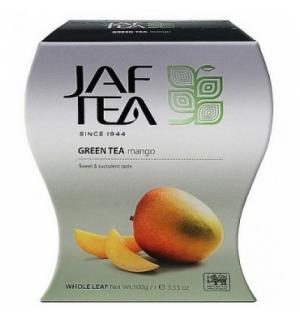 Чай зеленый Jaf Tea Mango 100г