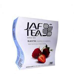Чай черный Jaf Tea Strawberry & Raspberry 100г