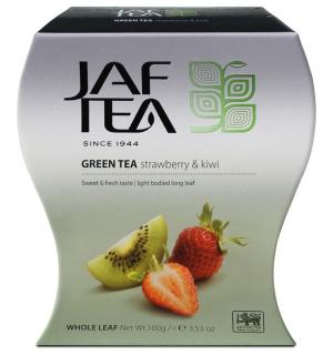 Чай зеленый Jaf Tea Strawberry & Kiwi 100г