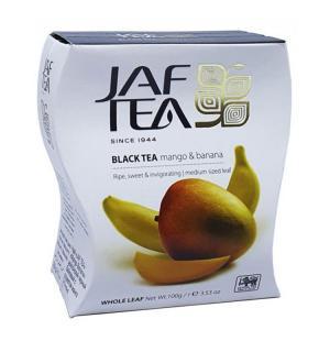 Чай черный Jaf Tea Mango&Banana 100г