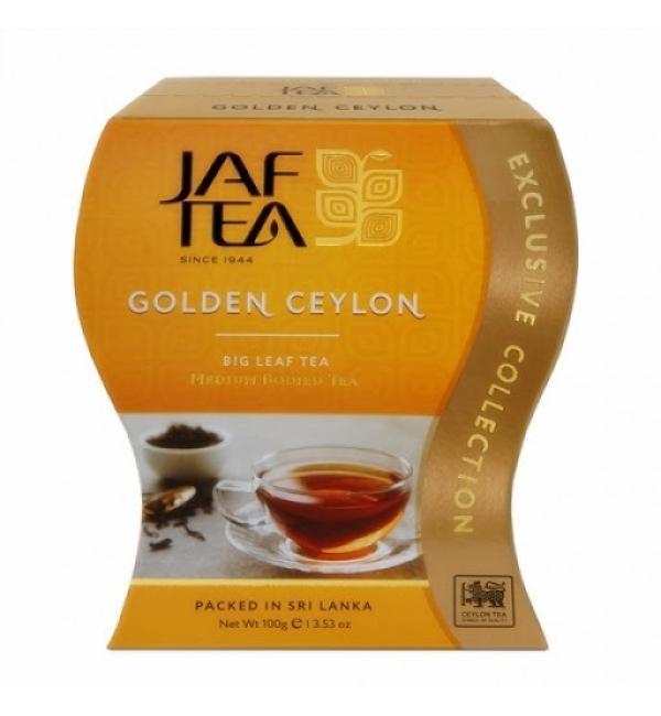 Чай черный Jaf Tea Golden Ceylon 100г