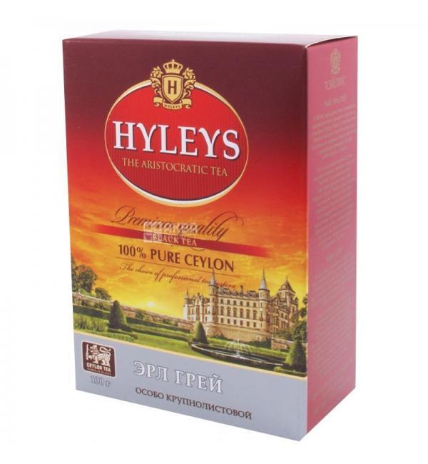 Чай черный Hyleys Эрл Грей 100г