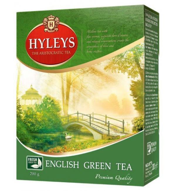 Чай зеленый Hyleys Английский чай 200г (100 пак.)