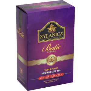 Чай Zylanica Super Pekoe Medium leaf Tea 100г