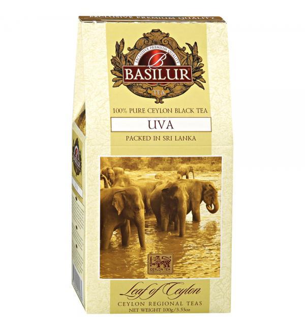 Чай черный Basilur UVA 100г