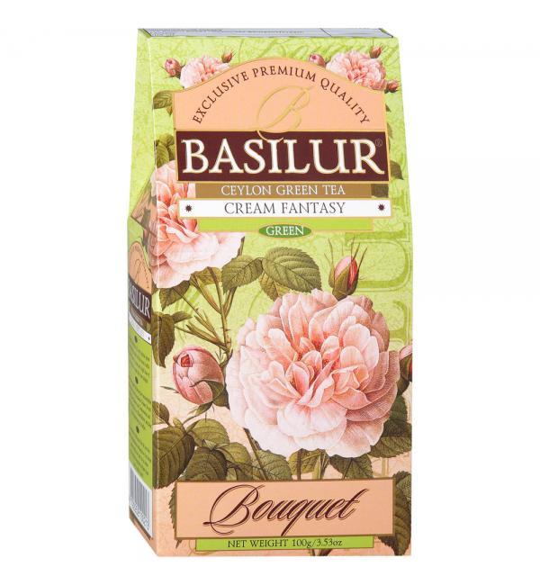 Чай зеленый Basilur Cream Fantasy 100г