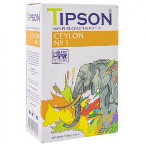 Чай черный Tipson Ceylon №1 100г