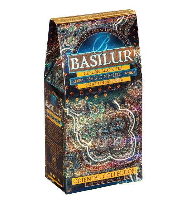 Чай черный Basilur Magic Nights 100г